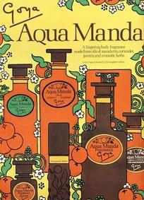 Постер Goya Aqua Manda For Men