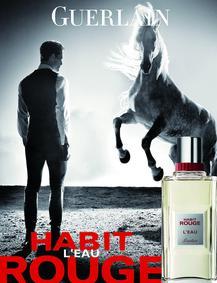 Постер Guerlain Habit Rouge L'eau