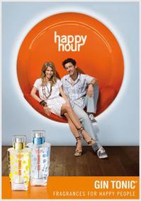 Постер Gin Tonic Happy Hour Men