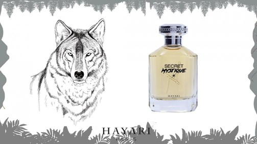 Постер Hayari Parfums Secret Mystique