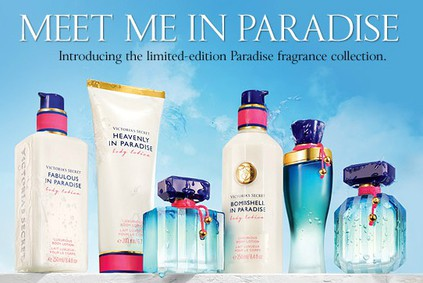 Постер Victoria's Secret Heavenly in Paradise