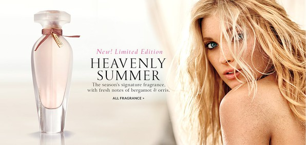 Постер Victoria's Secret Heavenly Summer Limited Edition
