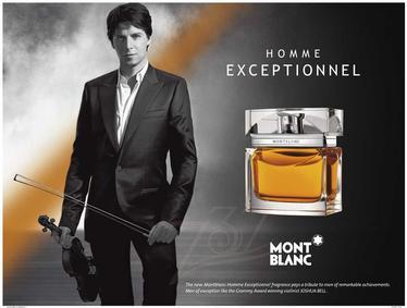 Постер Montblanc Homme Exceptionnel