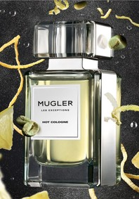 Постер Mugler Hot Cologne