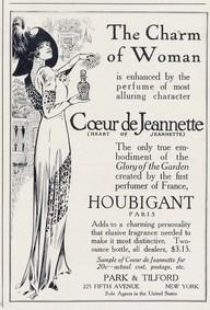 Постер Houbigant Coeur De Jeanette