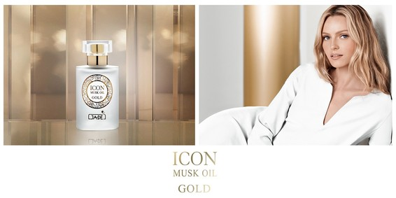 Постер Ga-De Icon Musk Oil Gold