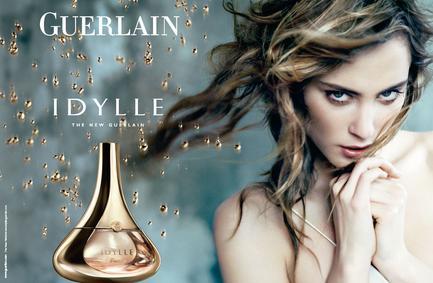 Постер Guerlain Idylle