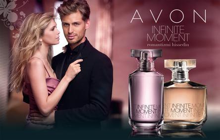 Постер Avon Infinite Moment for Her
