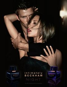 Постер David Beckham Intimately Beckham Night for Men