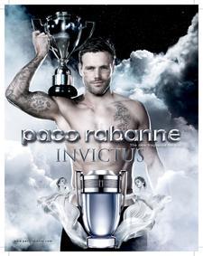 Постер Paco Rabanne Invictus