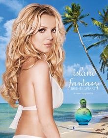 Постер Britney Spears Island Fantasy