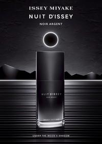 Постер Issey Miyake Nuit D'Issey Noir Argent