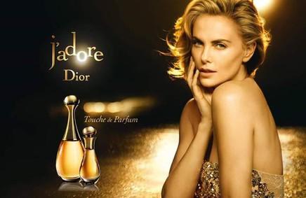 Постер Dior J`Adore Touche de Parfum