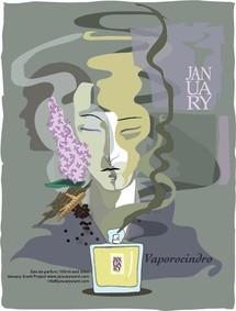 Постер January Scent Project Vaporocindro