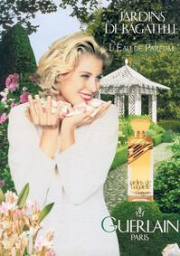 Постер Guerlain Jardins de Bagatelle