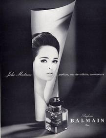 Постер Balmain Jolie Madame