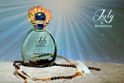 Постер July of St Barth Larmes D'Orient