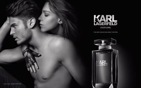 Постер Karl Lagerfeld for Him