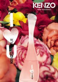 Постер Kenzo Amour I LOVE U