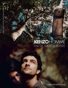 Постер Kenzo Homme Woody (Boisée)