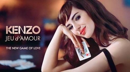Постер Kenzo Jeu d'Amour Eau de Parfum
