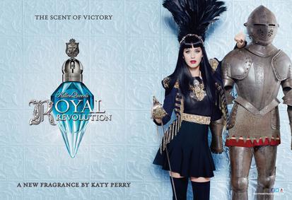 Постер Katy Perry Killer Queen Royal Revolution