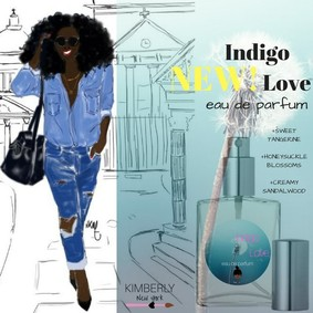 Постер Kimberly New York Indigo Love