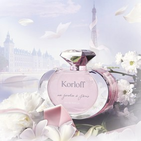 Постер Korloff Paris Un Jardin a Paris