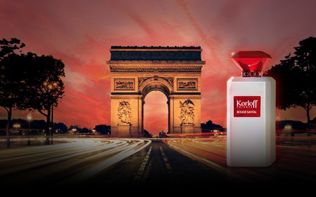 Постер Korloff Paris Korloff Private Rouge Santal