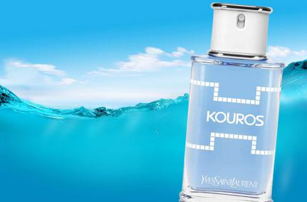 Постер Yves Saint Laurent Kouros Eau De Toilette Tonique 2014