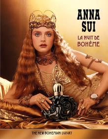 Постер Anna Sui La Nuit De Bohème Eau De Parfum