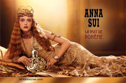 Постер Anna Sui La Nuit De Bohème Eau De Toilette