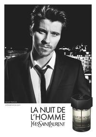 Постер Yves Saint Laurent La Nuit de L`Homme