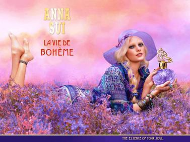 Постер Anna Sui La Vie De Bohème