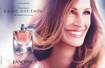 Постер Lancome La Vie Est Belle Eau de Parfum