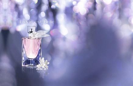 Постер Lancome La Vie Est Belle L'Eau de Toilette Florale