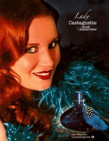 Постер Lulu Castagnette Lady Castagnette Blue Addiction