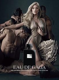 Постер Lady Gaga Eau De Gaga