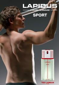 Постер Ted Lapidus Lapidus Pour Homme Sport