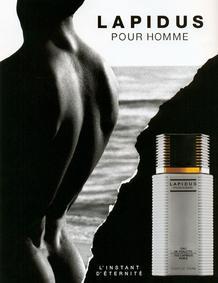 Постер Ted Lapidus Lapidus pour Homme