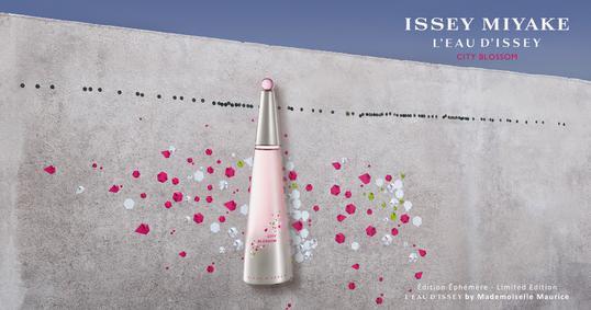 Постер Issey Miyake L'Eau d'Issey City Blossom