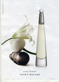 Постер Issey Miyake L'eau d'Issey Eau de Parfum