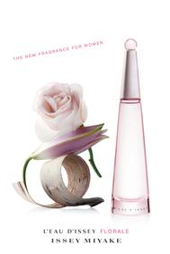 Постер Issey Miyake L'Eau d'Issey Pour Femme Florale