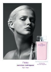 Постер L'eau Narciso Rodriguez for Her