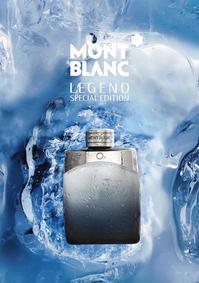 Постер Montblanc Legend Special Edition 2012