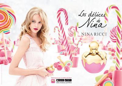 Постер Nina Ricci Les Délices de Nina