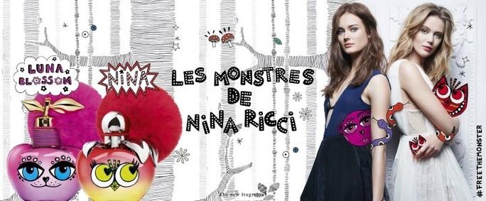 Постер Les Monstres De Nina Ricci Luna Blossom