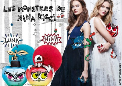 Постер Les Monstres De Nina Ricci Nina