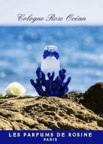 Постер Les Parfums de Rosine Cologne Rose Ocean