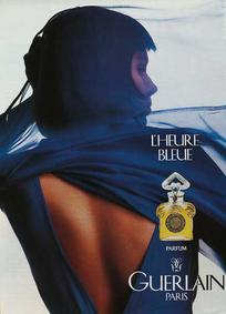 Постер Guerlain L'Heure Bleue